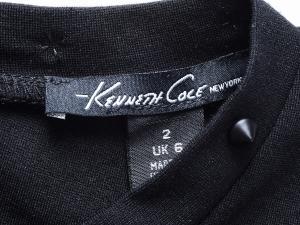 Kenneth Cole New York 케네스콜 뉴욕 스터드 넥크라인 블랙 원피스