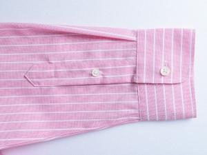 Lauren by Ralph Lauren 로렌 바이 랄프로렌, Lauren Ralph Lauren 핑크 핀스트라이프 셔츠