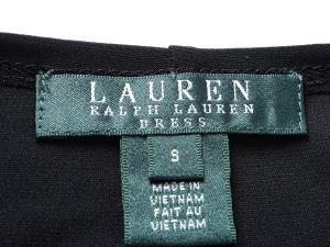 Lauren by Ralph Lauren 로렌 바이 랄프로렌, Lauren Ralph Lauren 블랙 크롭 저지 가디건
