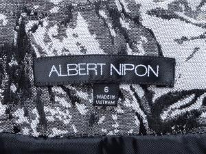 Albert Nipon 알베르트 니폰 플로랄자켓+새틴원피스 세트(SIZE:66-66반)