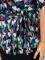 Diane Von Furstenberg 다이앤 본 퍼스텐버그, dvf, 다이안 본 퍼스텐버그, 다이안본퍼스텐버그 하트패턴 리본 블라우스