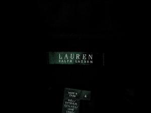 Lauren by Ralph Lauren 로렌 바이 랄프로렌, Lauren Ralph Lauren 블랙 로고버튼 자켓(SIZE : 66반)