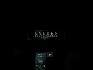 Lauren by Ralph Lauren 로렌 바이 랄프로렌, Lauren Ralph Lauren 블랙 라인 자켓(SIZE : 66반-77)