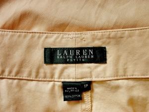 Lauren by Ralph Lauren 로렌 바이 랄프로렌, Lauren Ralph Lauren 베이지 카프리팬츠(허리 29)