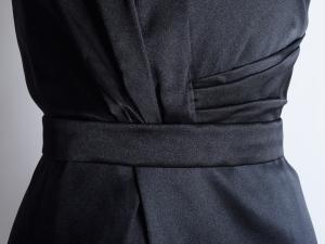 T Tahari 타하리, T. Tahari 브이넥 레드패턴 원피스(SIZE:66반-77)