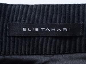 Elie Tahari 엘리 타하리 리얼 레더 텍스쳐 패널 스커트(허리:28인치)