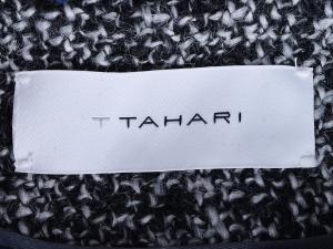 T Tahari 타하리, T. Tahari 소호 울 블랜딩 벨트 롱코트(SIZE:66/77)