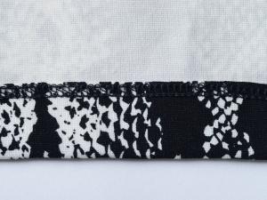 J. McLaughlin 제이 맥러플린 패턴 프린트 포켓 저지 원피스(SIZE:55반)