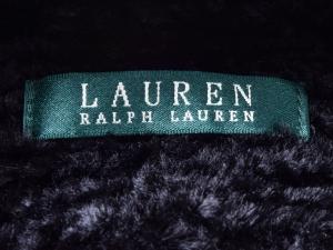 Lauren by Ralph Lauren 로렌 바이 랄프로렌, Lauren Ralph Lauren 블랙 페이크퍼 반코트