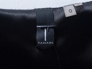 T Tahari 타하리, T. Tahari 블랙 플라워 원피스(SIZE : 55)