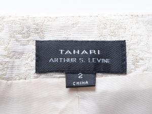 Tahari by Arthur S. Levine 타하리, Tahari by ASL, Tahari ASL 스팽글 메탈릭 원피스 세트