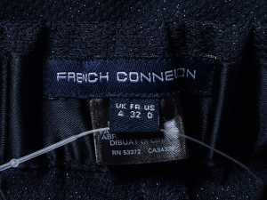 French Connection 프렌치 커넥션, FCUK 네이비 펄 밴딩 팬츠